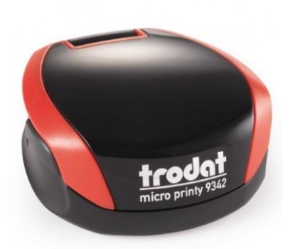 Antspaudas Ø 40 mm Micro Printy 9342, raudonas