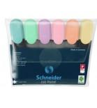 Teksto žymeklių Schneider Job 1-5mm 6 pastelinių sp.rinkinys