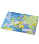 Stalo patiesalas su Europos žemėlapio vaizdu Esselte 40 x 65 cm