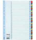 Skiriamieji lapai segtuvams A4 Esselte kartoniniai 1-31 spalvoti skaičiai