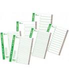 Skiriamieji lapai segtuvams A4 Forpus plastikiniai 1-5