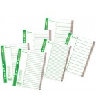 Skiriamieji lapai segtuvams A4 Forpus plastikiniai 1-6
