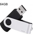 USB laikmena Twister  64GB juodos sp.