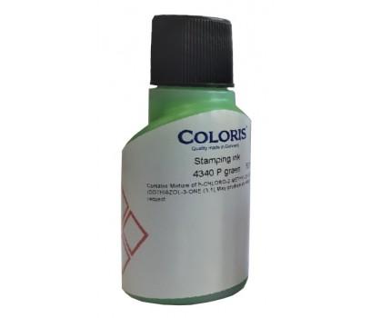 Antspaudų rašalas 4340P (neoninė žalia sp.) 50 ml